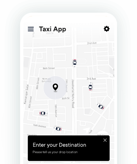 Uber Clone For Taxi App