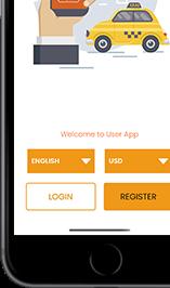 app screens & flow