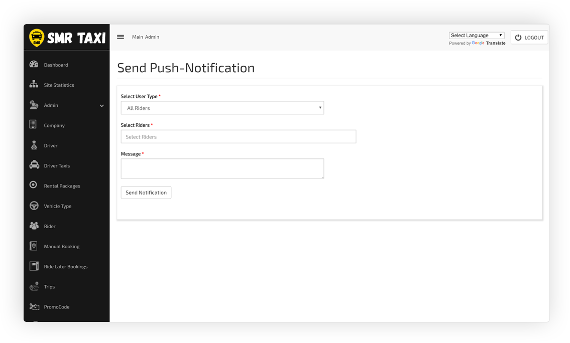 Send Push-Notification
